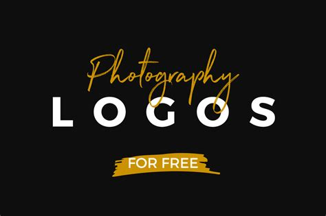 [free Logos] 10 Free Photography Logo Templates On Behance