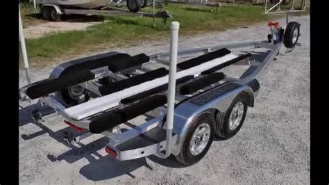 Aluminum Float On Boat Trailers by Sport Trail C Channel Aluminum Boat Trailers