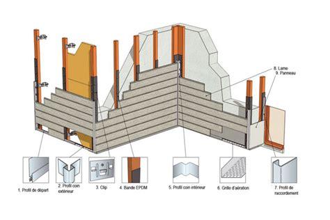 realiser un bardage exterieur avec isolation bardage bois et fibro ciment design fa 231 ade