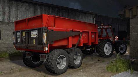 remorque plateau pack  mod farming simulator