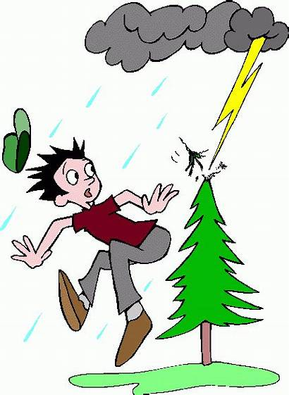 Lightning Clipart Storm Strike Clip Storms Cliparts