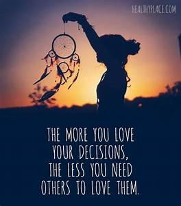 Self-Confidence... Confident Decision Quotes
