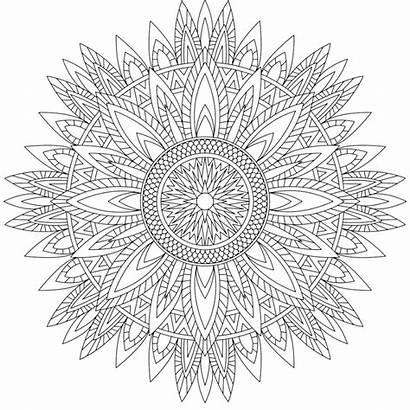 Mandala Coloring Pages Secret Sense Mandalas Da