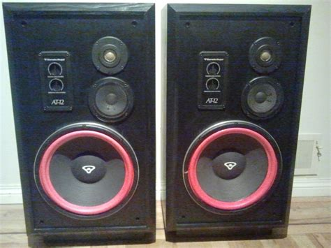 used cerwin floor speakers cerwin floor speakers obo for sale canuck audio mart