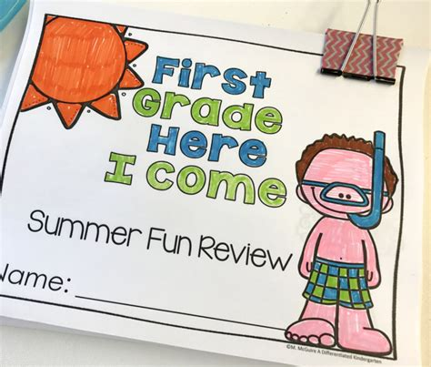 Send Them Off For The Summer With A School's Out Freebie And Summer Review Packet A
