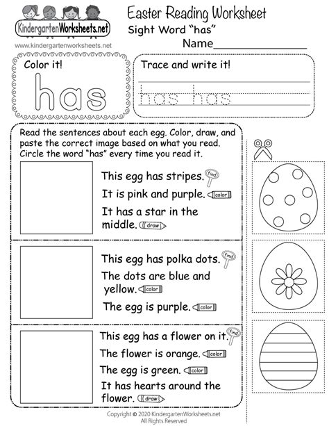 search results   kindergarten reading