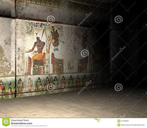 interieur des pyramides en egypte illustration 224 l int 233 rieur de tombe ou de pyramide d egypte antique illustration stock image