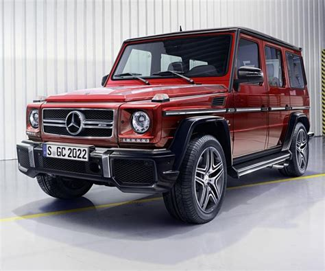 mercedes g wagon the legendary mercedes g wagon receive updates for 2017