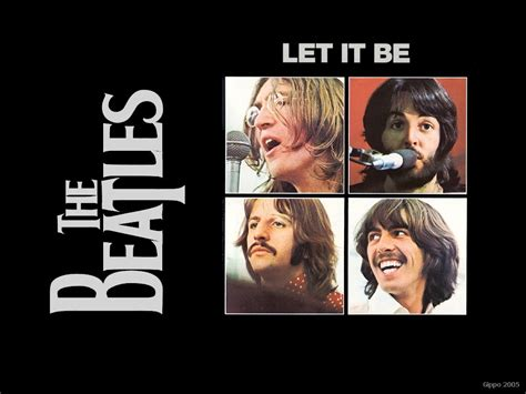 Let It Be  The Beatles 1970 L'ultimo Album + Wallpapers