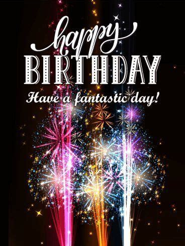 sparking happy birthday fireworks quote pictures
