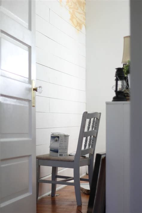 Easy Shiplap by Cheap And Easy Diy Shiplap Wall Farmhouse On Boone