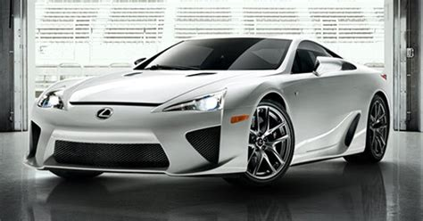 Lexus Lfa Successor Could Go Hybrid, Show Its Face In 2019
