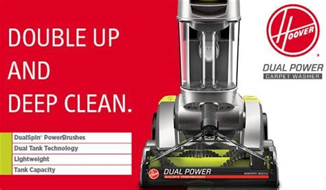 how to use hoover carpet cleaner steamvac hoover dual power max carpet washer fh51000