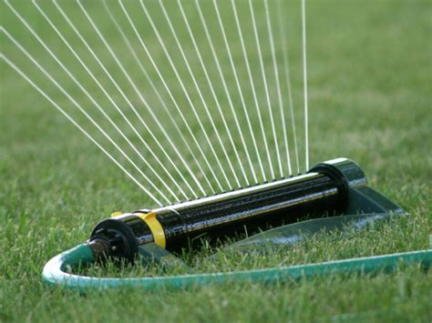 types of lawn sprinkler systems choosing an irrigation system hgtv