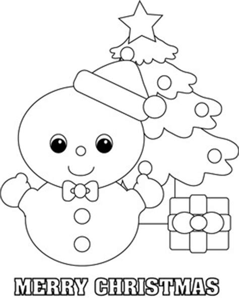 christmas snowman coloring pages festival collections