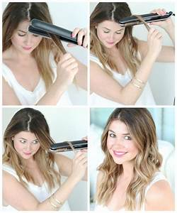 How To Get Beach Waves With A Flat Iron Glitter Guide