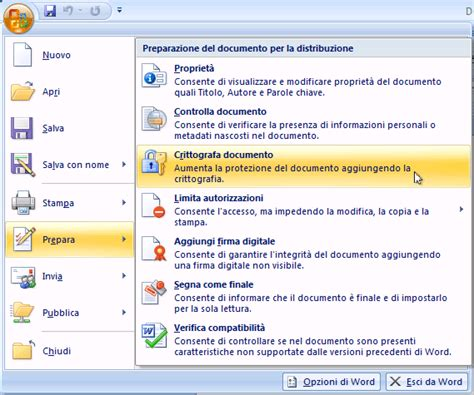 word excell power point guida tutorial come proteggere i propri documenti word