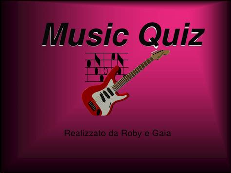 Questions, quizzes and fun all to do with music ! PPT - Music Quiz PowerPoint Presentation, free download - ID:730340