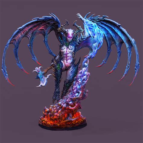 Creature Caster Summon The Lady Of Chaos - OnTableTop ...