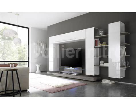 Meuble Tv Design Gris Meuble Television Contemporain