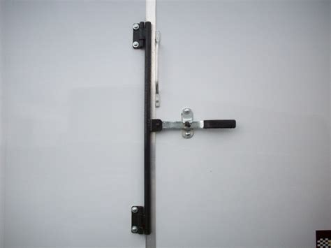 door bar lock carson enclosed upgrade options pac west trailers