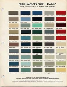 Bmc  Bl Paint Codes And Colors   How