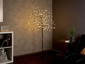 Bäume Für Drinnen : lunartec lichterbaum led deko baum mit 200 beleuchteten ~ Michelbontemps.com Haus und Dekorationen