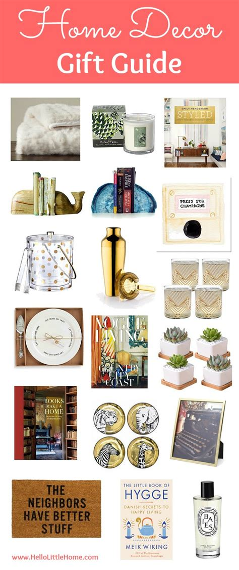 Home Decor Gift Guide  Hello Little Home