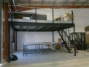 Mezzanine Metallique En Kit : stunning mezzanine en kit images ~ Premium-room.com Idées de Décoration
