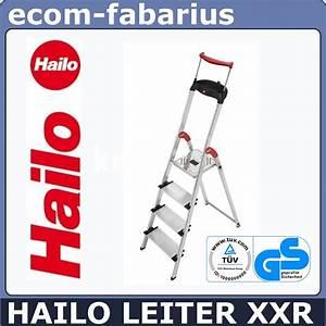 Hailo Leiter 8 Stufen : hailo leiter aluleiter 8854 001 4 stufen xxr haushaltsleiter klappleiter schale ebay ~ Buech-reservation.com Haus und Dekorationen