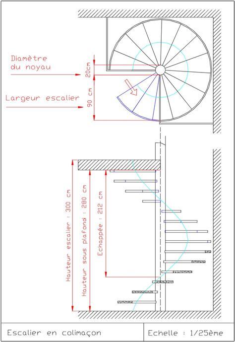 calcul escalier sur mesure comment dessiner des escaliers sur un plan