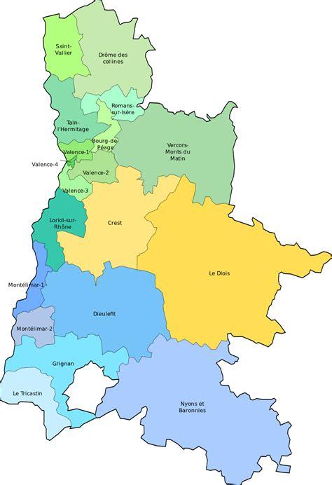 sous préfecture de la drôme à nyons informations et carte de la drôme drôme carte du département 26 villes