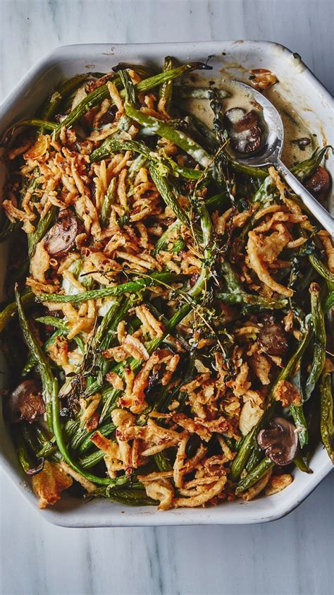 bas  green bean casserole recipe thanksgiving