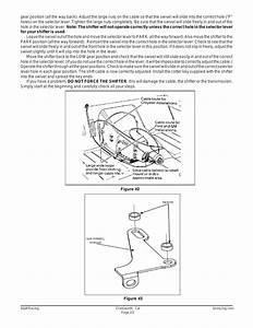 B U0026m 75498 Bracket  U0026 Lever Kit For 4l60e  4l80e User Manual