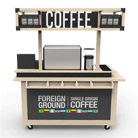Since your level of operations will be significantly smaller than a static coffee shop, you will have few financial hurdles. Coffee Cart | Mobile Coffee Stands Design & Espresso Carts ...