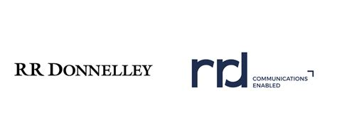 Brand New: New Logo for RR Donnelley