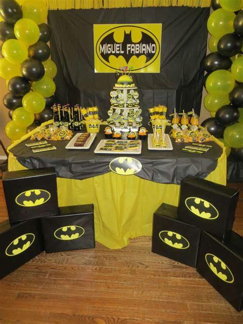 Batman Birthday Party Ideas  Photo 30 Of 31  Catch My Party