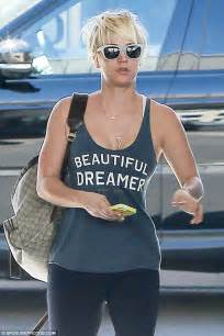 tshirt dreamer black kaley cuoco horseback at los angeles equestrian