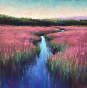 a classic river pastel painting lessons pastel
