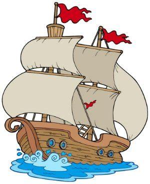 Cartoon Mayflower Boat by The Mayflower A Poem For Kids