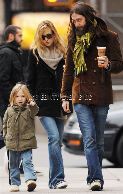 kate hudson  chris robinson spend time  son ryder