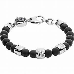 Bracelet Homme Marque Italienne : bracelet diesel bijoux crank dx1023040 bracelet perle noir homme sur bijourama r f rence des ~ Dode.kayakingforconservation.com Idées de Décoration