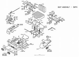 Dixon Ztr 4515b  1998  Parts Diagram For Body Assembly