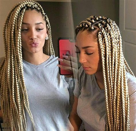 blonde braids pinterest hairnails  style