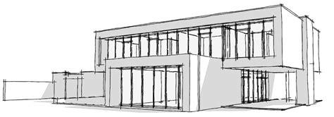 Moderne Häuser Zeichnen by Haus Architektur Skizze