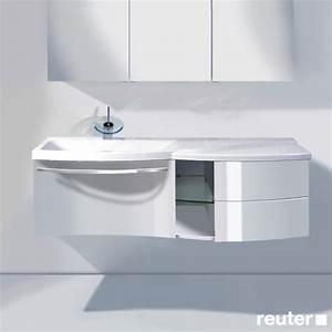 Waschtischunterschrank Mit Schubladen : burg sinea waschtischunterschrank mit waschtisch 1 auszug 1 regal und 2 schubladen front wei ~ Indierocktalk.com Haus und Dekorationen