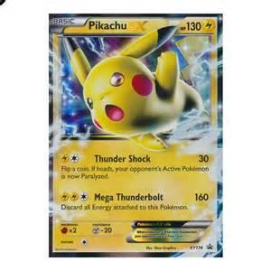 Pikachu Ex Pokemon Rare Cards