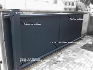 Rail De Guidage Pour Portail Coulissant : les accessoires d 39 un portail coulissant art et portails ~ Edinachiropracticcenter.com Idées de Décoration