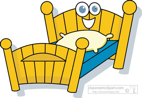 Cartoons Clipart- Twin_bed_cartoon_character_20
