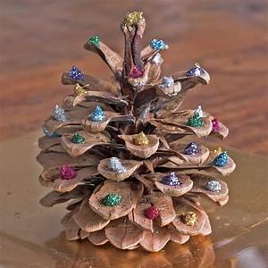 Bastelideen Weihnachten Erwachsene : weihnachtsdeko basteln mit tannenzapfen wundervolle diy ~ Watch28wear.com Haus und Dekorationen